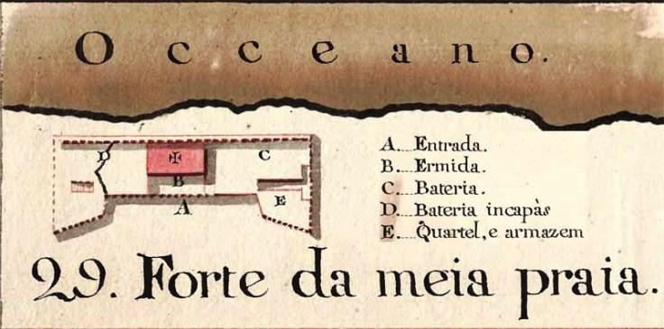 Forte da Media Praia - Laos - 1790 - José Sande Vasconcelos