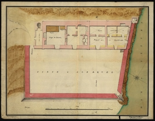 Forte Albarquel - Diogo Correia da Motta - 1792