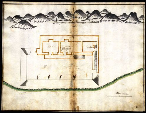 Forte Baralha Joao Tomas Correia sobre 1710