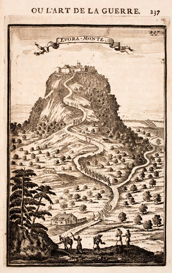 evoramonte Alain Manesson Mallet 1696