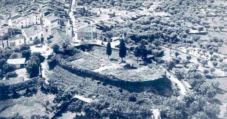 Montalvao vista aerea 1960
