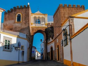 Puerta del Templo - Arco Santa Clara