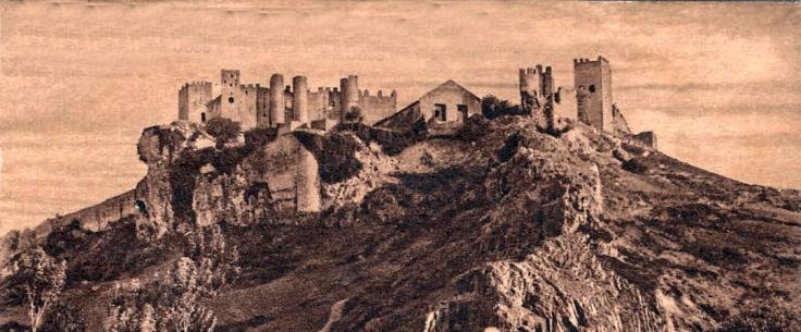 Castillo de Óbidos hacia 1930