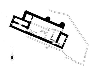 Planta castelo Alcanede