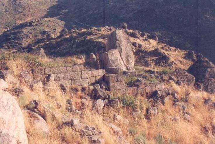 Castelo Monforte Vestigios de Muralha (DGPC)