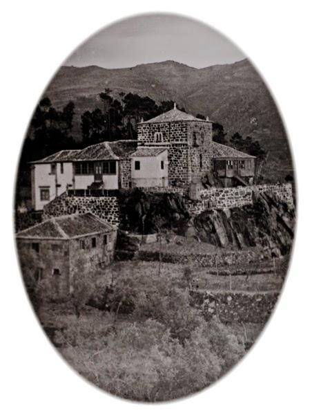 Torre Lagariça. Cliché de A. Cochofel, 1927
