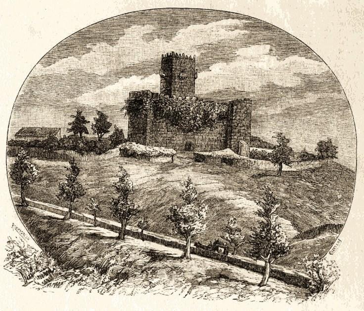 Sabugal. Gravura 1888
