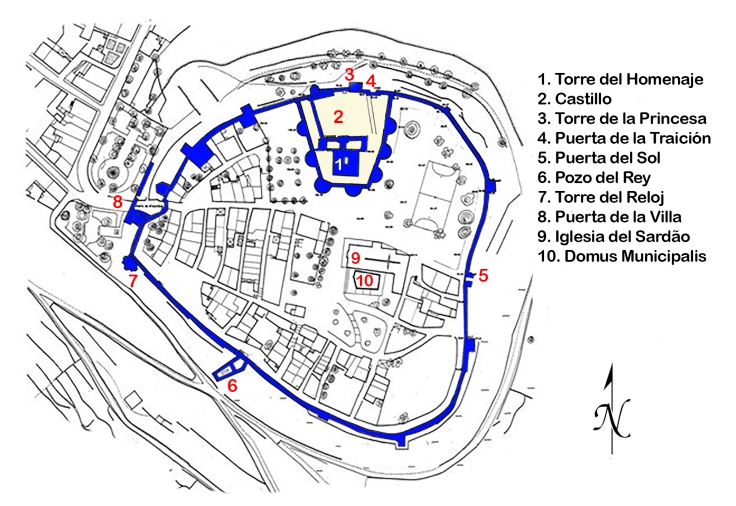 Planta Castelo Bragança