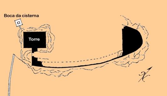 Planta Castelo Mogaduro