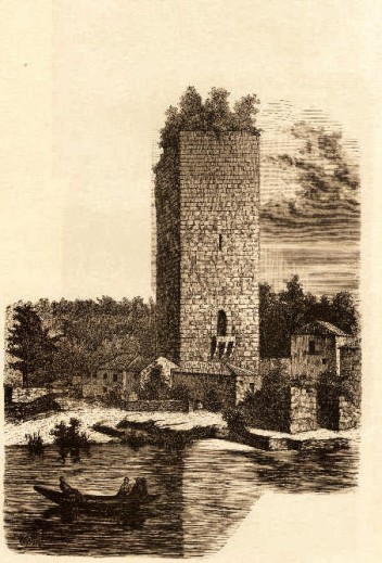 Torre de Lapela Gravura de João de Almeida. 1886