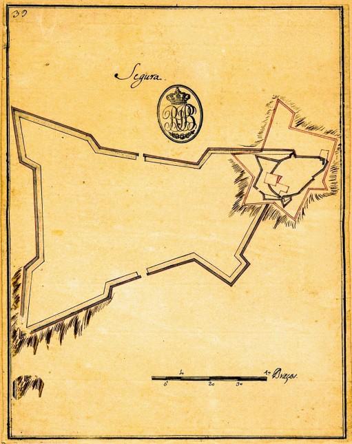 Segura planta 1730-1