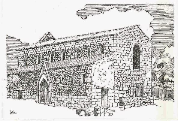 catedral idanha lustração de José Luís Madeira
