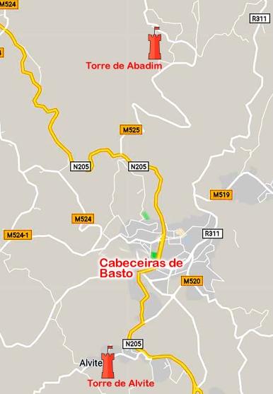 Cabeceriras de Basto - Torres