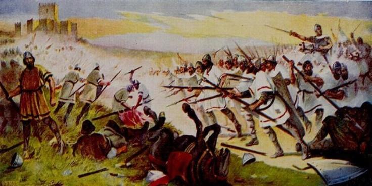 24 de Junho de 1128: Batalha de São Mamede , «A Primeira Tarde Portuguesa».