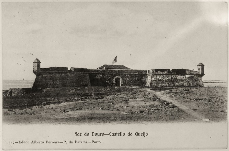Forte de São Francisco Xavier do Queijo Fotografia de Teófilo Rego. 1910