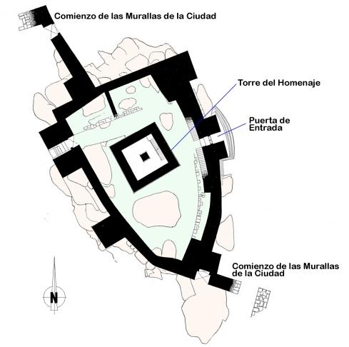 Planta Castelo de Guimaraes
