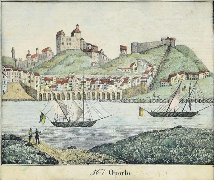 PORTO - GRAVURA DO SÉC. XVIII
