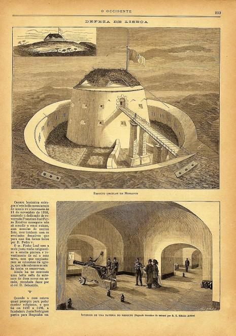 Alto do Duque - O Ocidente revista ilustrada de Portugal e do estrangeiro n 104 1881