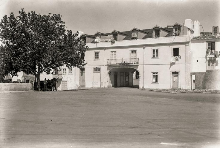 Antiga Residência do Governador do Forte do Bom Sucesso - Casa do Arco da Torre 1940