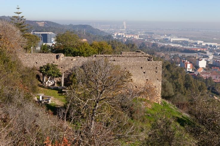 Muralhas Castelo de Povos-2