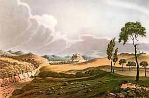 Torres Vedras Gravura de Stadler e Landmann XIX