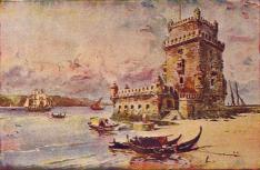 Torre de Belem. Roque Gameiro. 1917
