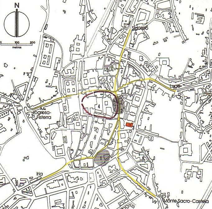 El locus sancti iacobi en el contexto de la ciudad