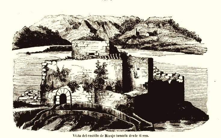 Castelo da Lua - grabado 1850