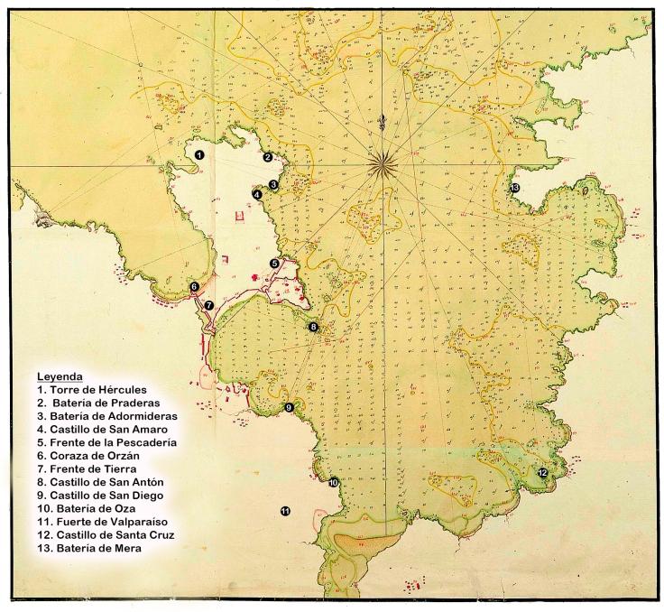 Bahia Coruña Juan Patricio García 1788