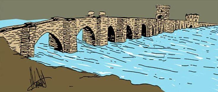 Reconstrucción del Puente Medieval1