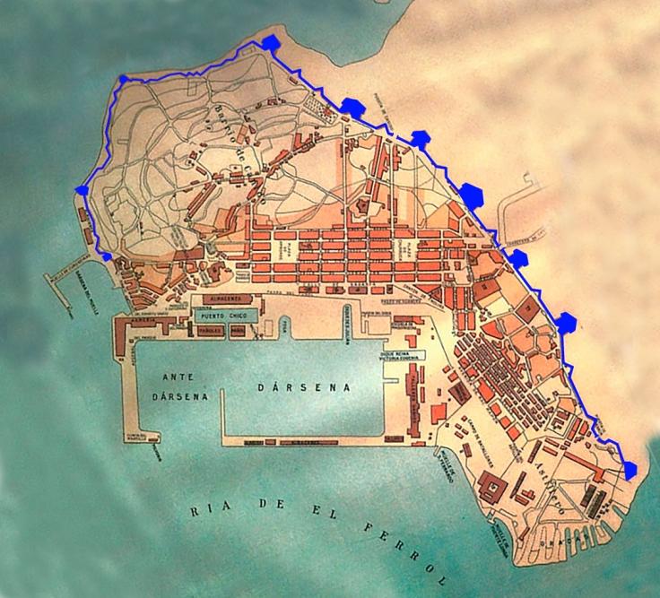 Ferrol siglo xviii